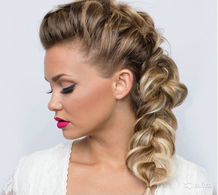 Hairstyles From Braids To Medium Hair Step By Step Elegant And