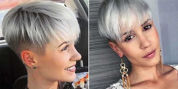 Beautiful Short Haircut Women S Creative Haircuts For Short Hair